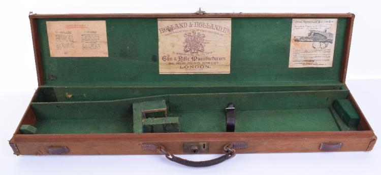 Gun Case with Holland & Holland Ltd Labels