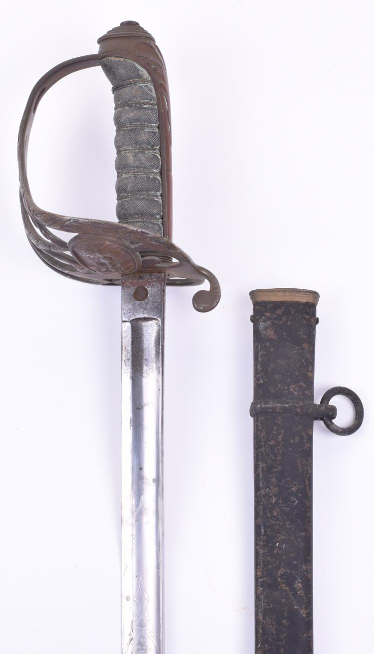Wilkinson Infantry Officers Sword of Unidentified Colonial Service Pattern
