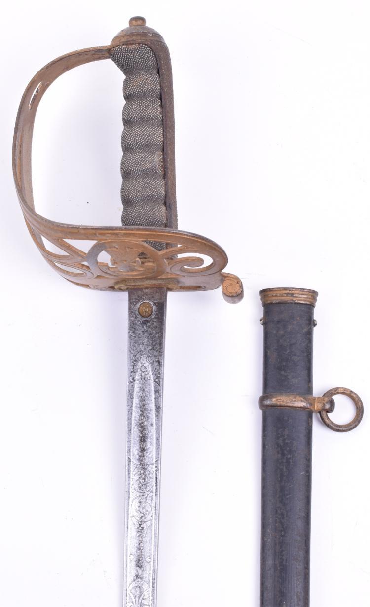 Edward 7th Officers 1827 Pattern Rifle Regiment Piquet Weight Sword