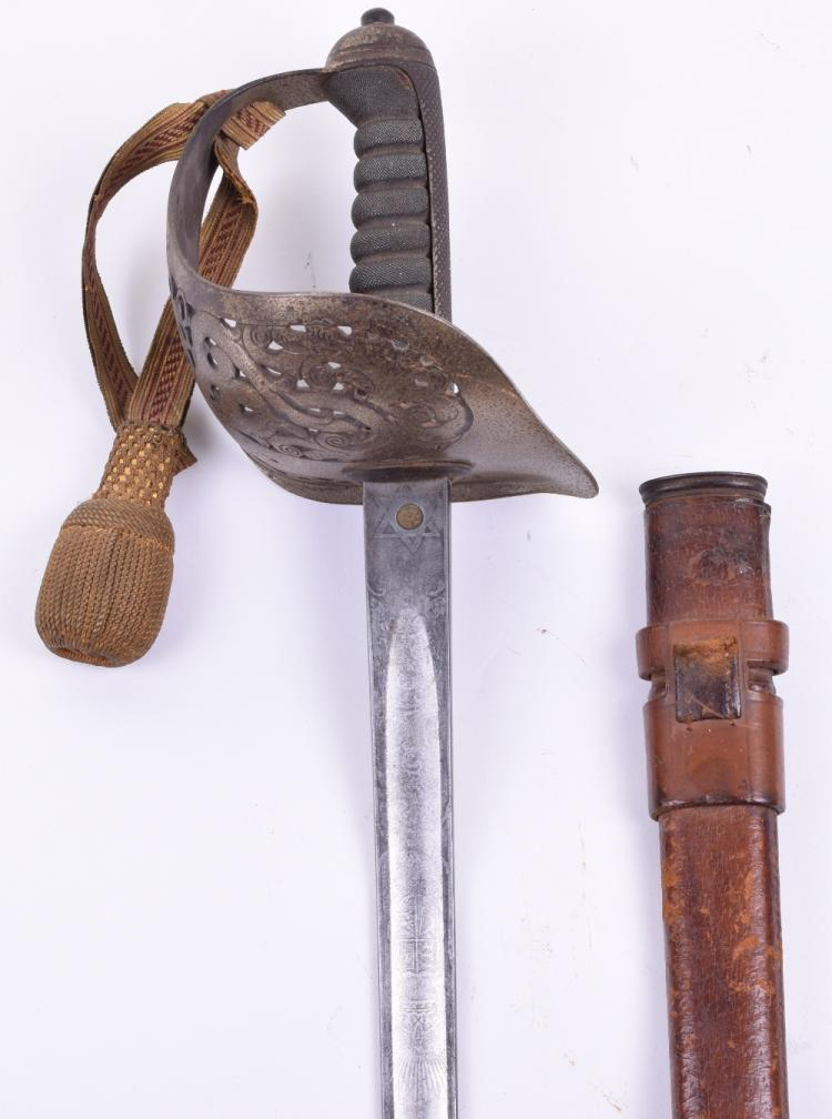1897 Pattern Infantry Officers Sword