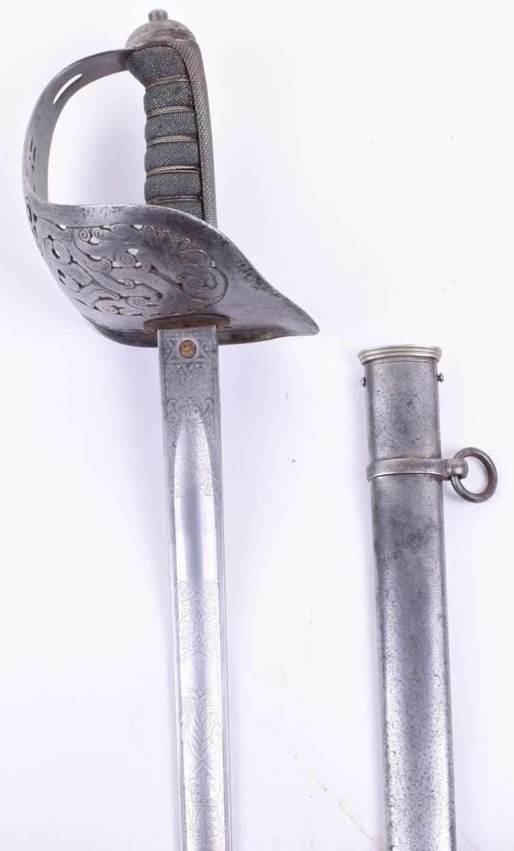 Edward VII 1897 Pattern Infantry Officers Sword