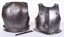17th Century Cavalry Troopers Breast and Back Plate