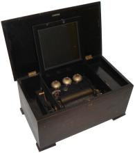 A Bells-in-View musical box, by P.V.F.,