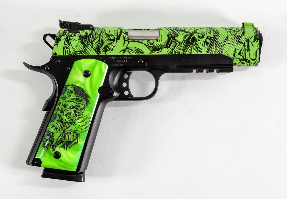 Iver Johnson Zombie 1911 Pistol