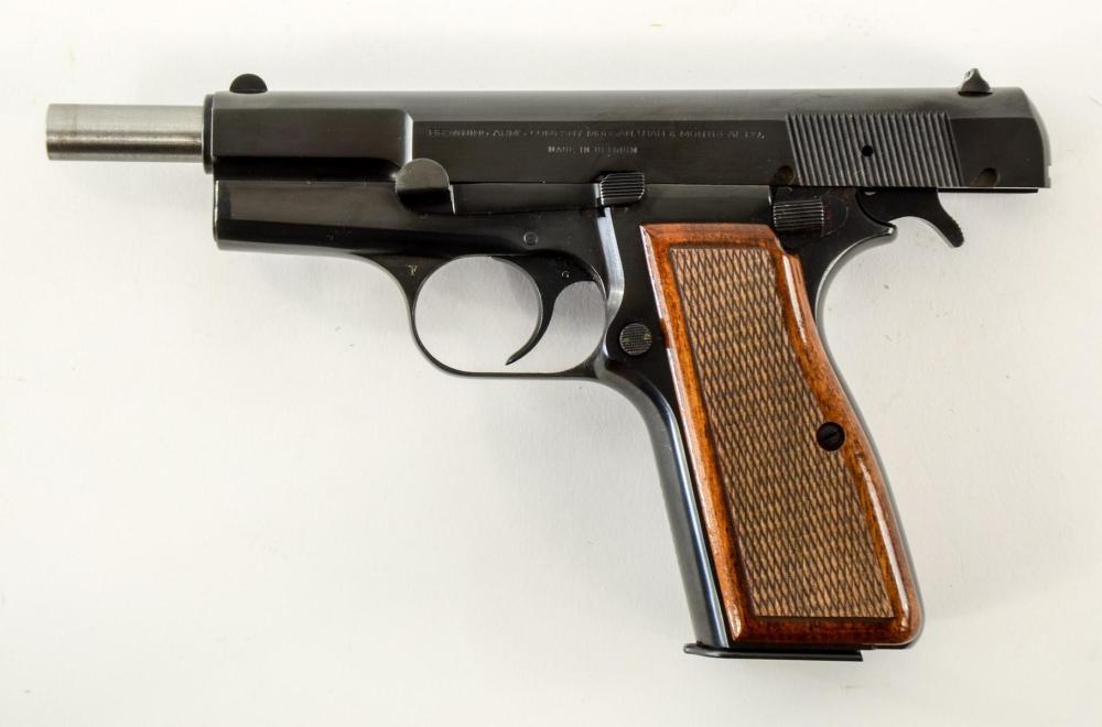 Belgian Browning Hi Power 9mm Pistol