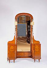 A Dressing Table with Mirror