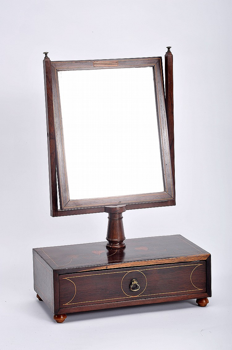 Vanity Mirror With Lights And Dresser : A Vanity Dresser with Tilting Mirror