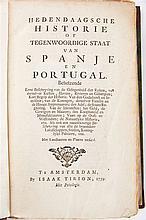 Hedendaagsche historie of tegenwoordige staat van Spanje en Portugal