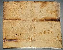 A Manuscript - Dom Pedro II, King of Portugal (1648-1706)