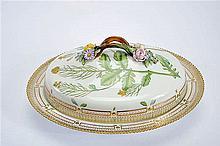 A Royal Copenhagen porcelain Covered Serving Dish