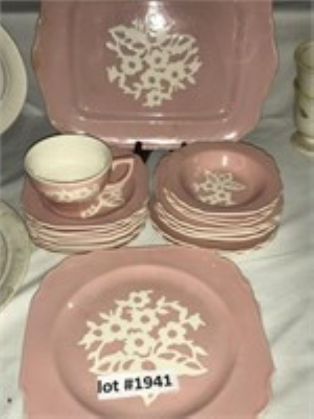 Cameo Pink Pattern