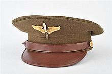 Casquette d'élève pilote de l'USAAF en gabardine k
