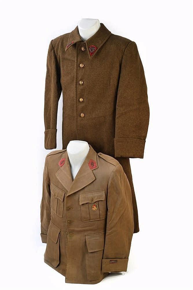 Veste d'officier du Service de Santé à quatre poches de médecin aspirant. I