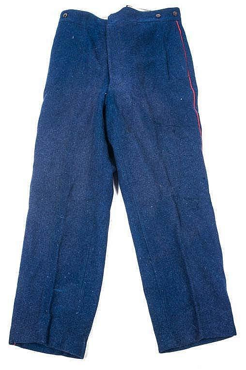 Pantalon troupe de l'Infanterie Coloniale, période début de guerre. Etat II