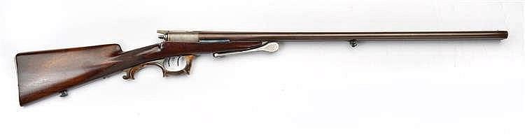 Fusil de chasse à deux canons juxtaposés et à aigu