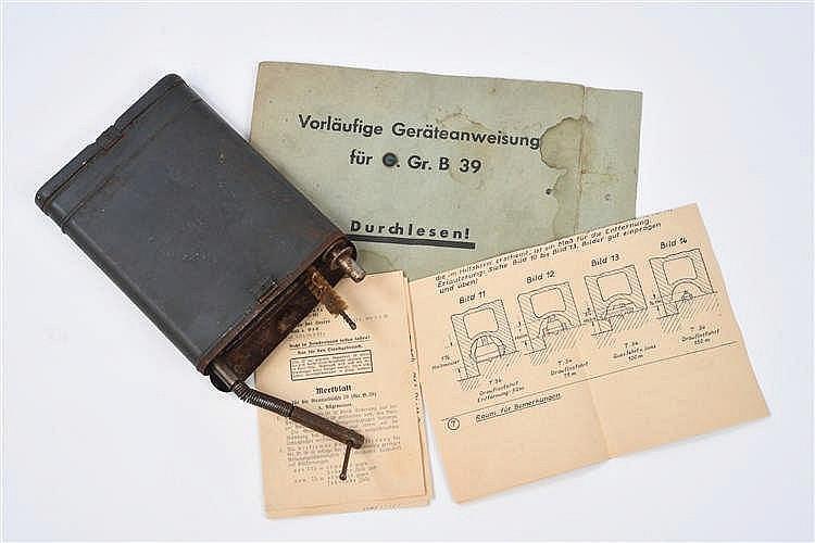 Nécessaire de nettoyage de Panzer Büchse 39 en mét
