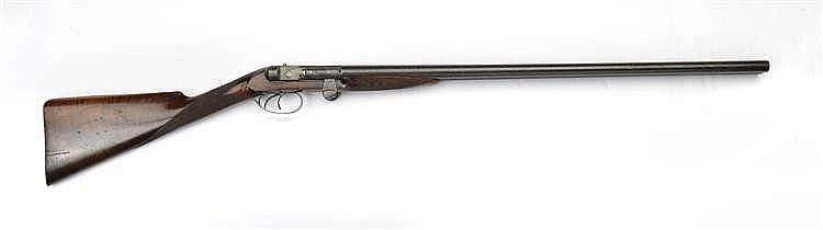 Fusil  à canons juxtaposé  culasse papillon et per