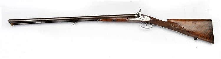 Fusil à percussions signé par Gobert Ainé. Modèle