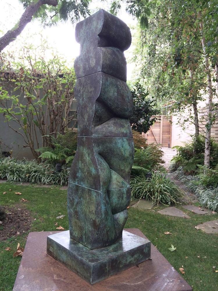 Tanya ragir vertical landscape i bronze limited edition for Landscape limited