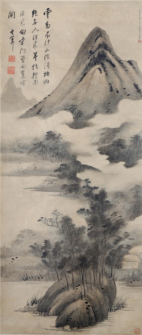 DONG QICHANG: INK AND COLOR 'LANDSCAPE' ON PAPER