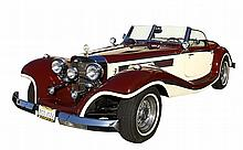 A 1934 MERCEDES BENZ 500K REPLICA