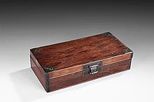 A HUANGHUALI WOOD BOX