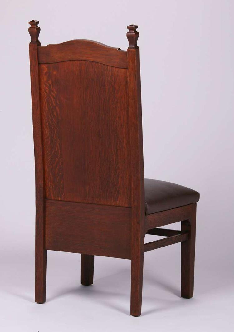 4 mathews furniture shop chair with carved poppies for Furniture 4 a lot less