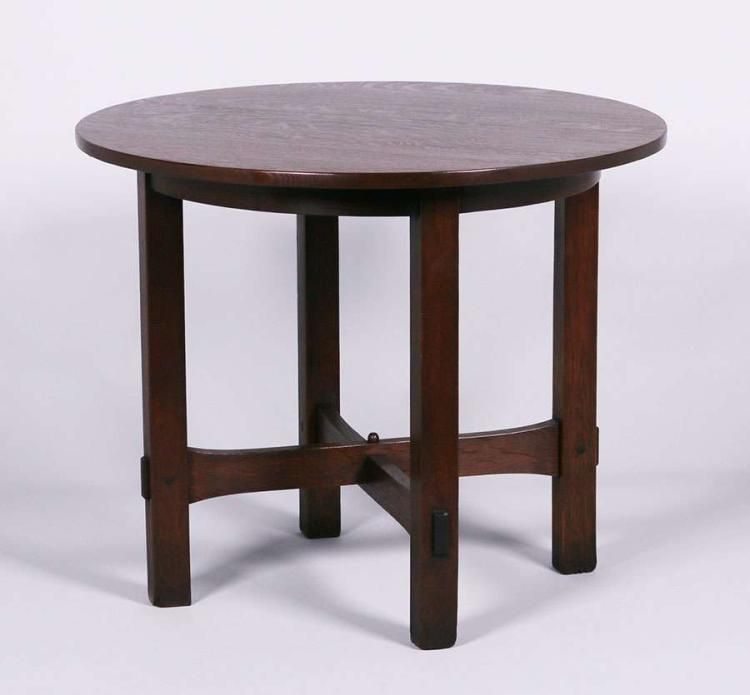 Gustav Stickley 36 Quot D Lamp Table