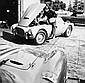 Steve McQueen préparant sa Siata 208S de 1953