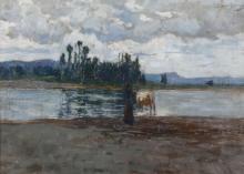 Giuseppe Sacheri (1863 - 1950), Guado