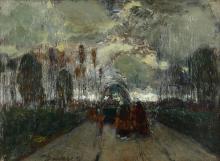 Giuseppe Sacheri (1863 - 1950), Ritorno, 1919