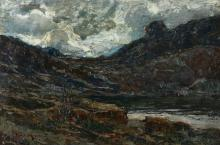 Giuseppe Sacheri (1863 - 1950), Il lago del Nivolet