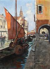 Cesare Esposito (1886-1943), Canale veneziano