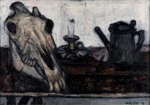 Tino Vaglieri (1929-2000), Natura morta, 1956