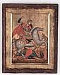 Icona raffigurante San Gerolamo cm 40x30