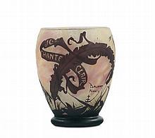 Daum - Nancy Piccolo vaso di forma ovoidale