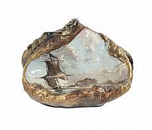 Emile Gallé (1846-1904) - Nancy Vuotatasche in ceramica