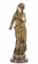 Albert Ernest Carrier-Belleuse (1824-1887) - Francia Fileuse