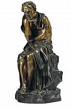Demetre Haralamb Chiparus (1886-1947) Figura maschile seduta