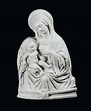 Scultore del XVII secolo Madonna col Bambino
