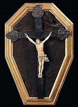 Cristo crocifisso in avorio, XIX secolo
