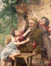 Gaitano Bellei (1857-1922), Le ciliegie