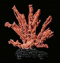 A large coral