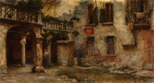 Mario Moretti Foggia (1882-1954), Cortile