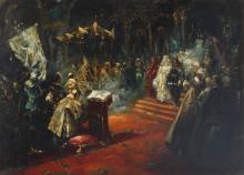 Salvator Sanchez Barbudo (1857-1917), Cerimonia Nobiliare