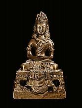 A gilt-bronze
