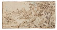 Giovan Francesco Grimaldi detto Il Bolognese (1606-1680), Paesaggio