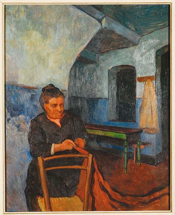 Paolo Rodocanachi (1891-1958) La moglie del