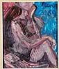 Primo Conti (1900-1988) Nudo femminile, 1969 olio, Primo Conti, Click for value