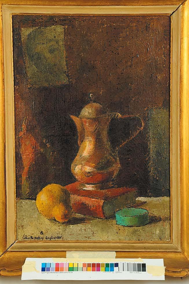 Alberto Helios Gagliardo (1893-1987) Natura morta